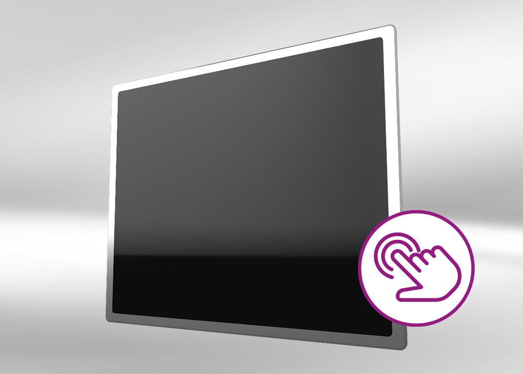 Industrie-PC mit Touchscreen: Front