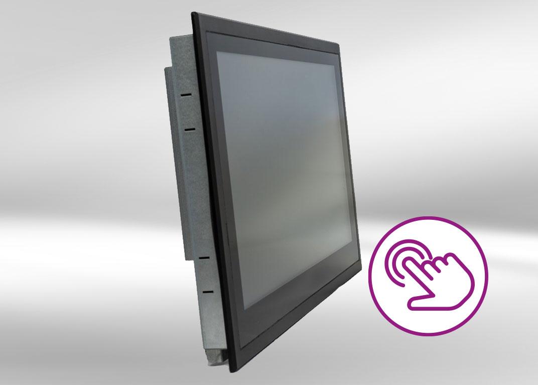 Industrie-Monitor Einbau-Touchscreen