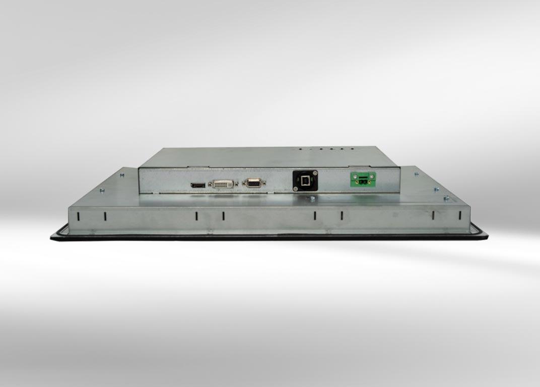 Robuste Industrie-PCs und Monitore: Anschlüsse