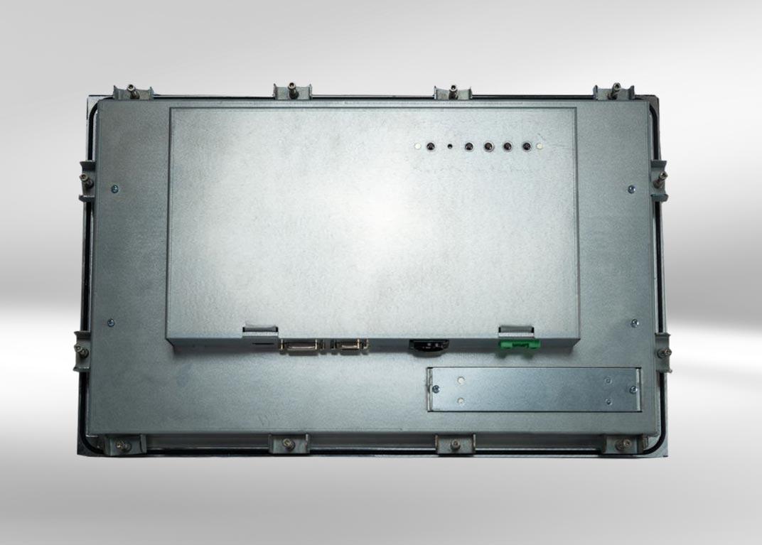 Einbau-Monitor mit Touchscreen: Rückseite
