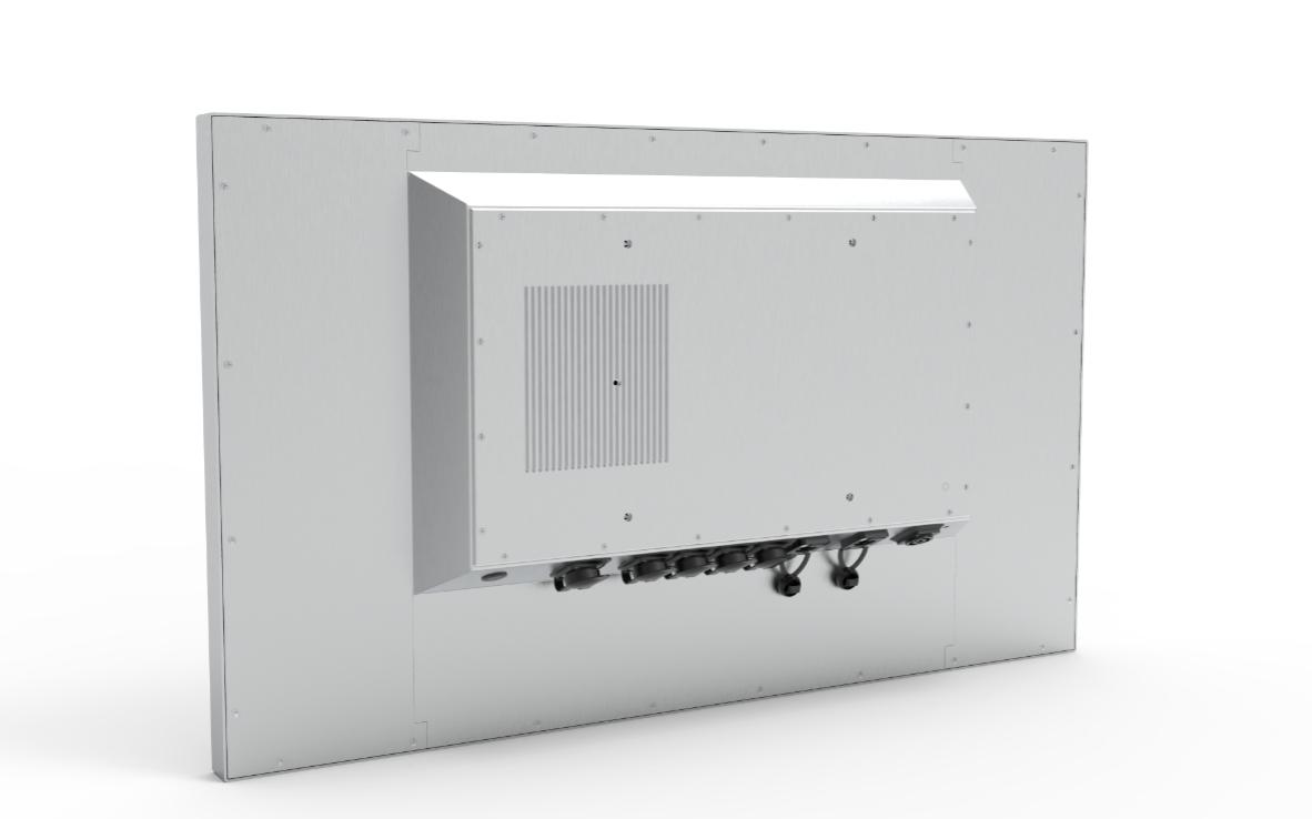 TLSM320 Industriemonitor Rückseite