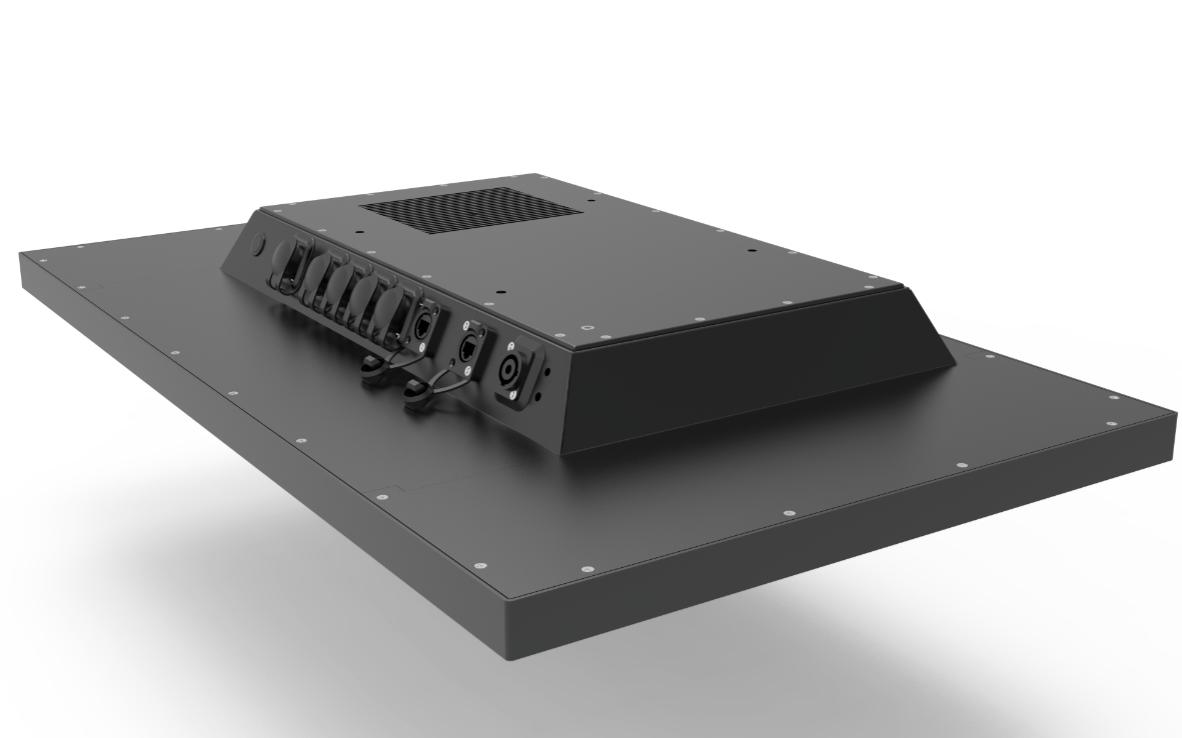 TLSM320 Industriemonitor Anschlüsse
