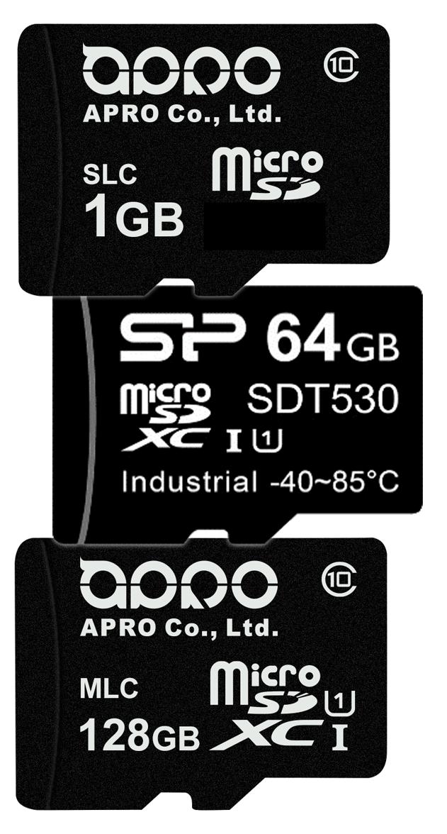 Industrial microSD Card