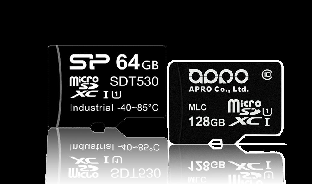 microSD Card SLC, aSLC und MLC