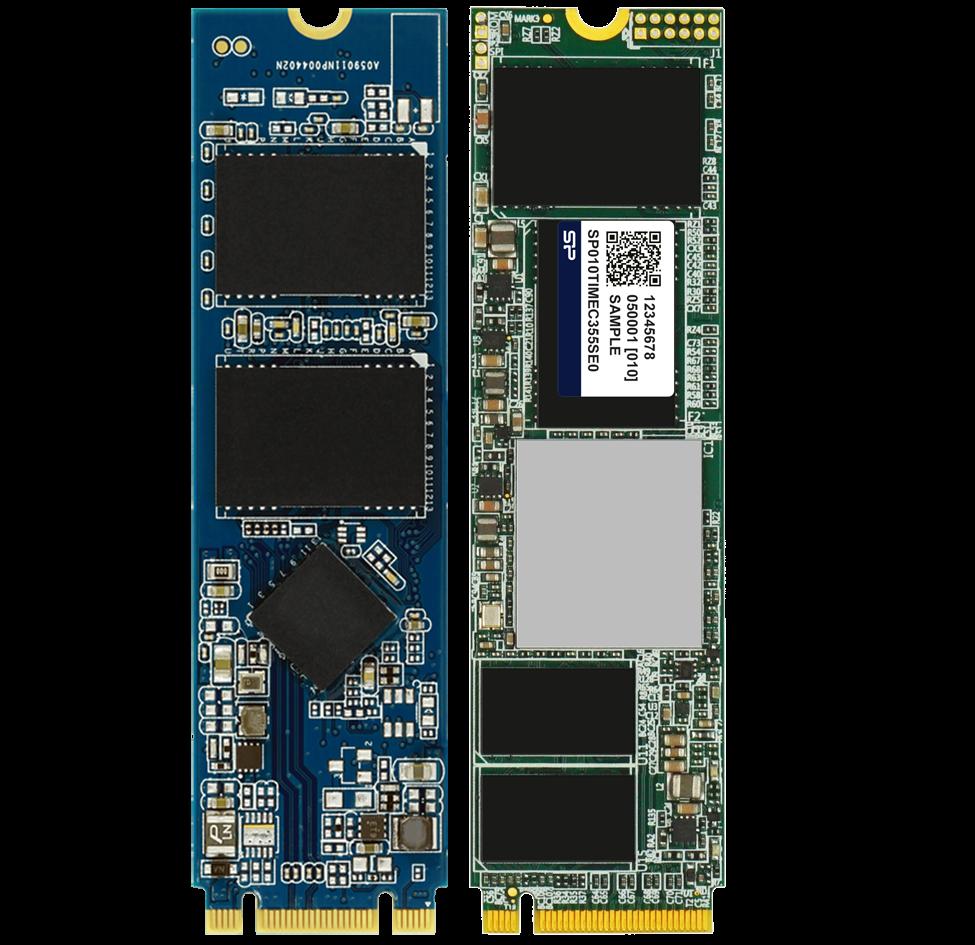 M.2 2280 NVMe & SATA