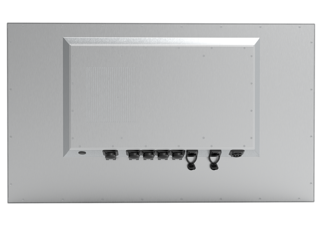 IP65 Industrie-PC ohne Touch PAP-320S (Rückseite)