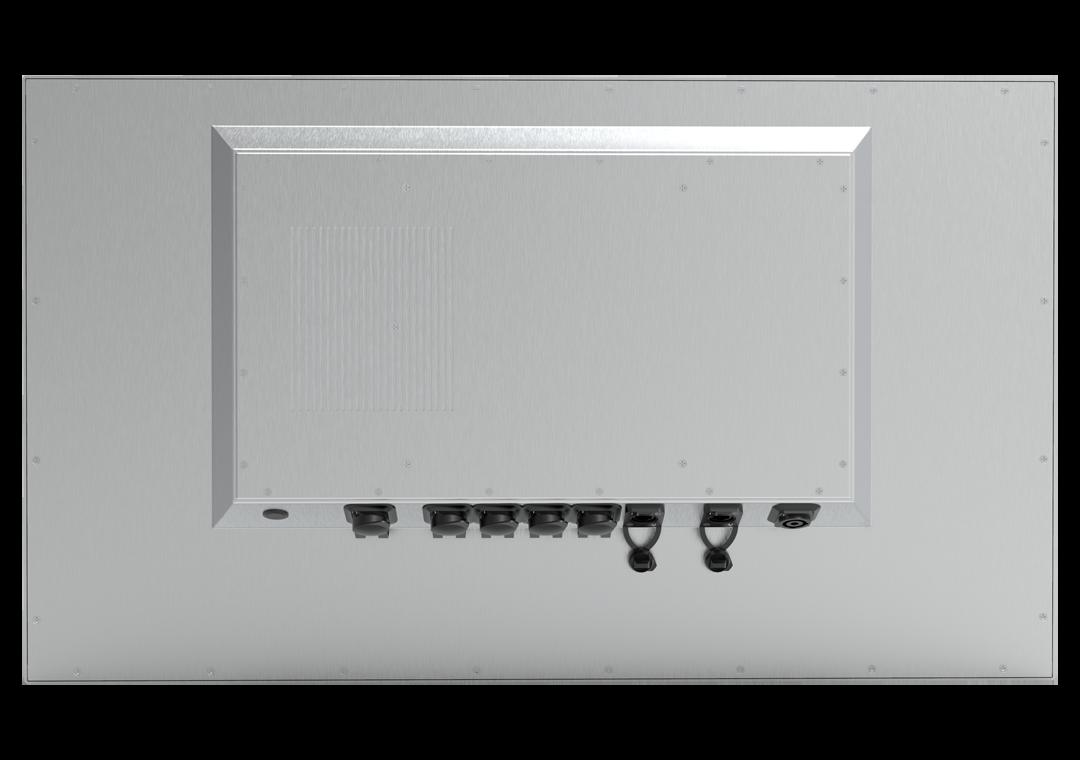 IPC IP65 mit Touch TLSP Steel-Line (Rückseite)