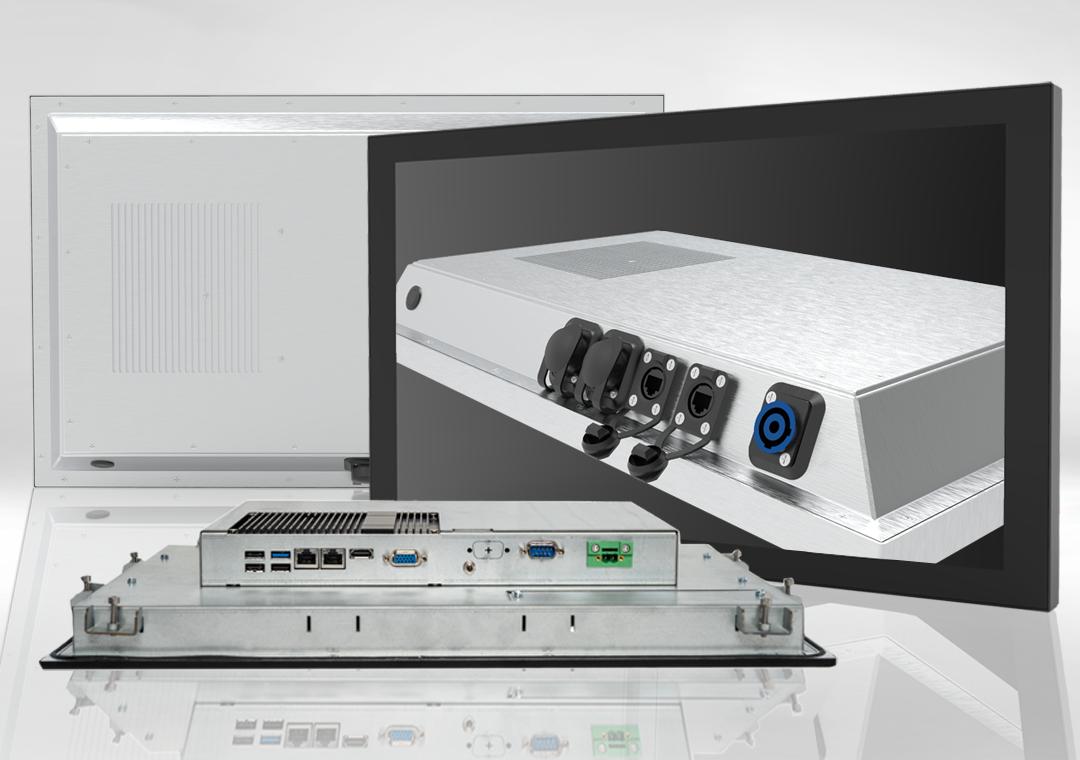 PICOS Industrie-PCs & -Monitore sowie Einbau-PCs