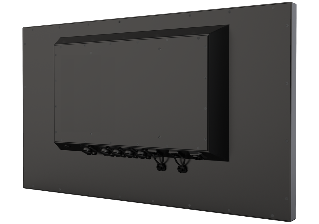 IP65 Industrie-Monitor ohne Touch PAM-320B (Rückseite)