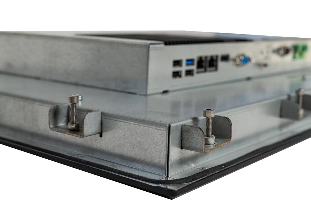 Einbau-IPCs mit Touch KPC-xxx (Detail Klemmbefestigung)