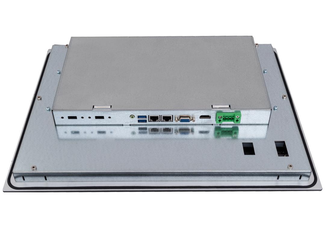 Einbau-Industrie-PCs mit Touch KPC-xxx (Anschlüsse)