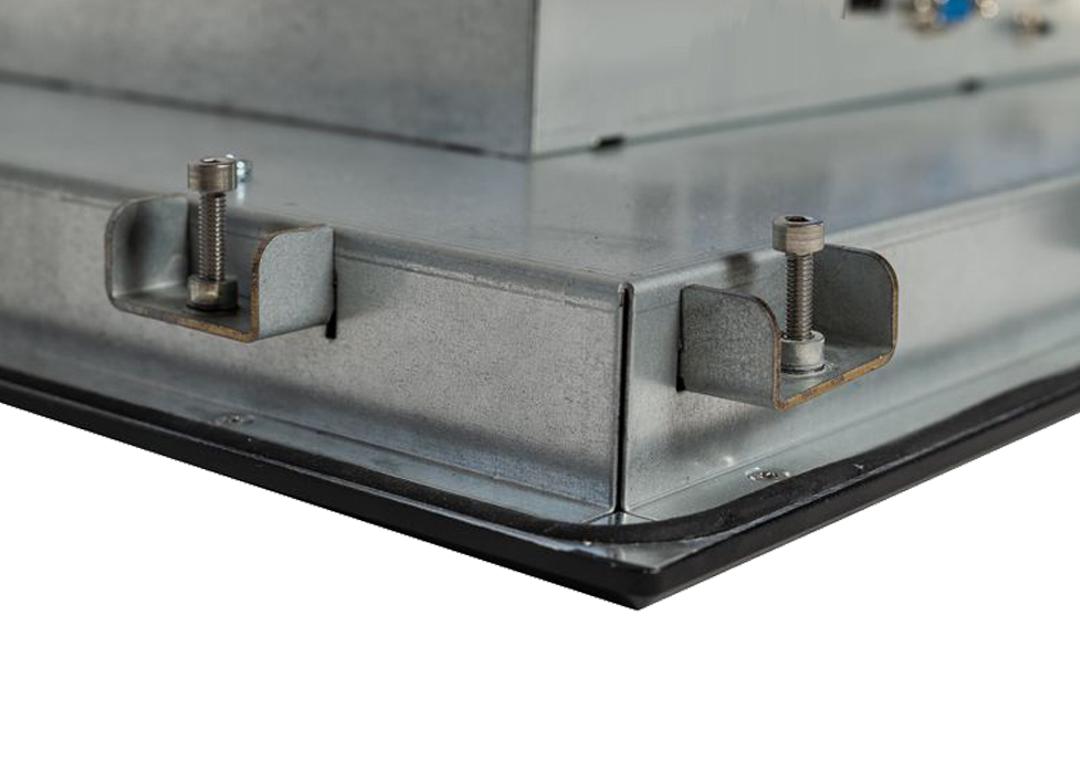 Einbau-Industrie-Monitor (Detail Klemmbefestigung)