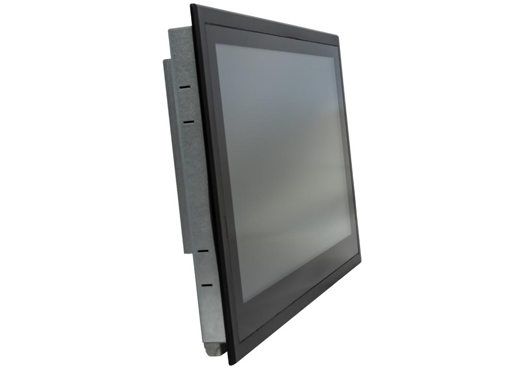 Einbau-Industrie-Monitor mit Touchscreen (Front seitlich)
